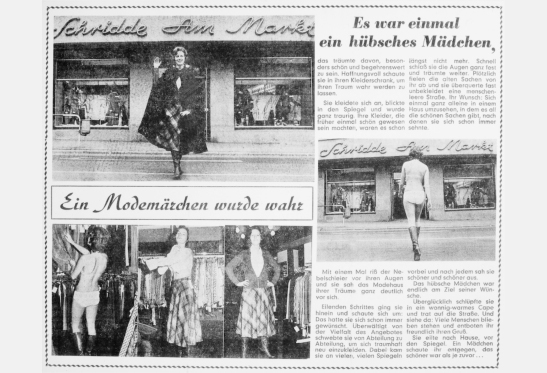 Modehaus Schridde am Markt Historie